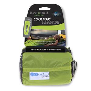 Image of Sea to Summit Adaptor Coolmax Sleeping Bag Liner with Insect Shield