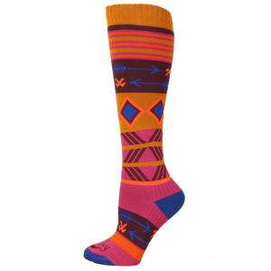 Hot Chillys Primitive Pop Mid Volume Sock (Women's)