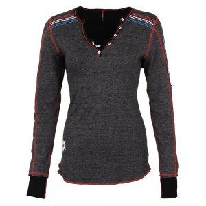 Image of Alp-n-Rock Ski USA Vintage Racer Henley Shirt (Women's)
