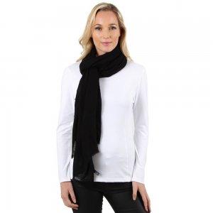 Image of Elan Blanc Cashmere Large Woven Scarf (Women's)