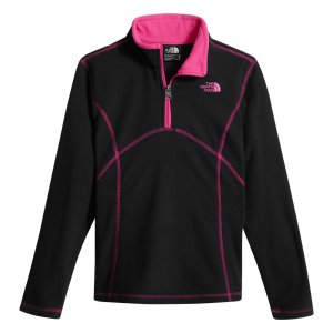 The North Face Tech Glacier Half Zip Fleece Mid Layer (Girls')