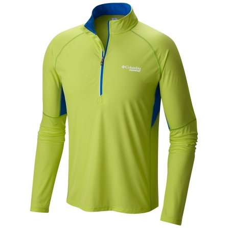 Montrail by Columbia Titan Ultra Half-Zip Running Shirt (Men's) - Voltage/White
