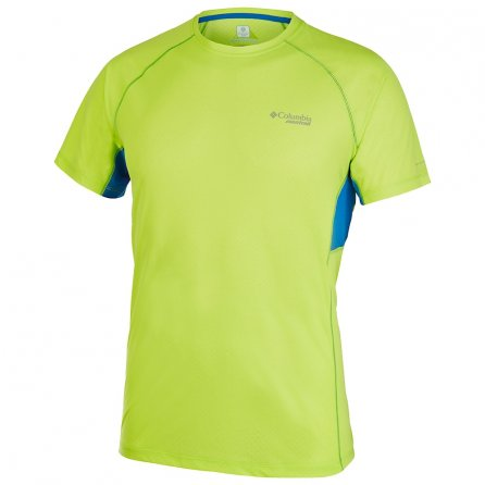 Montrail by Columbia Titan Ultra Short Sleeve Running Shirt (Men's) - Voltage/White