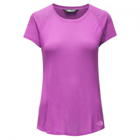 The North Face Versitas Short Sleeve Shirt (Women's) - Sweet Violet