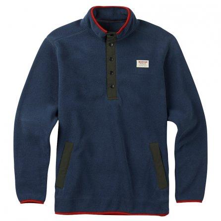 Burton Hearth Fleece Anorak Mid-Layer Top (Men's) - Mood Indigo