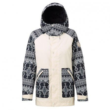 Burton Eastfall Insulated Snowboard Jacket (Women's) - Canvas/True Black Mojave