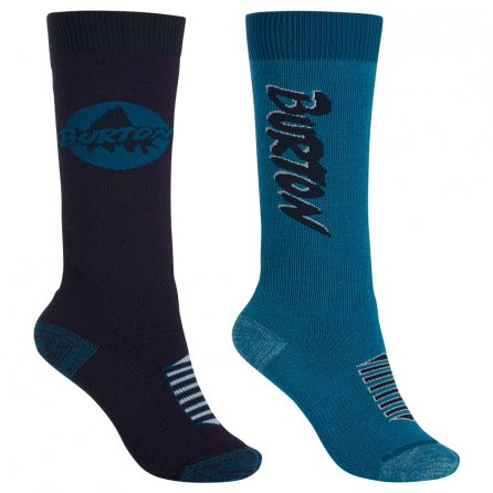Burton Weekender Midweight 2-Pack Socks (Boys') - Mountaineer
