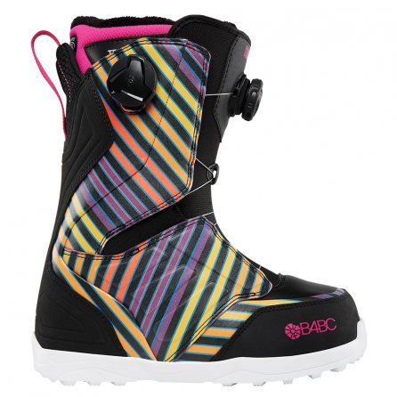 ThirtyTwo Lashed Double Boa Snowboard Boot (Women's) - Black