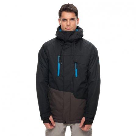 686 Geo Insulated Snowboard Jacket (Men's) - Black Colorblock