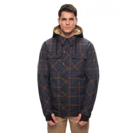 686 Woodland Insulated Snowboard Jacket (Men's) - Dark Denim Melange