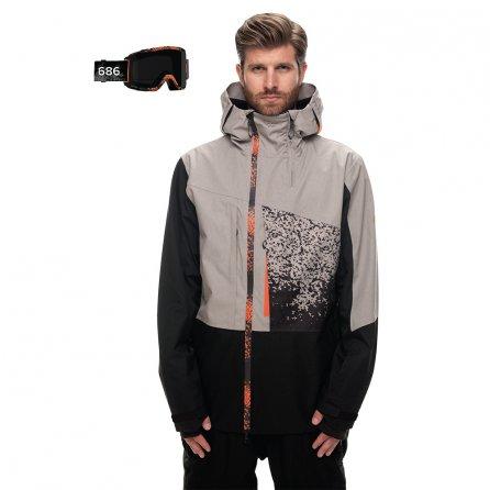 686 Smith Squad Snowboard Jacket (Men's) - Light Grey