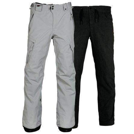 686 Smarty 3-in-1 Cargo Snowboard Pant (Men's) - Light Grey