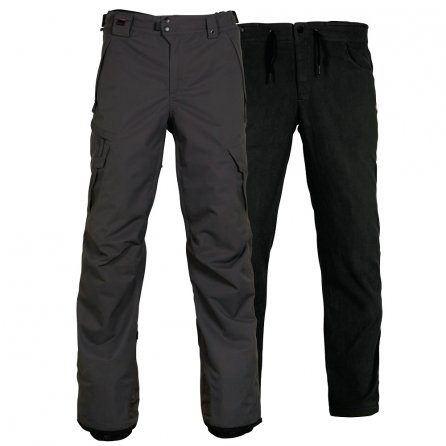 686 Smarty 3-in-1 Cargo Snowboard Pant (Men's) - Charcoal/Gray