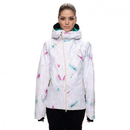 686 GLCR Hydra Insulated Snowboard Jacket (Women's) - White Diamond