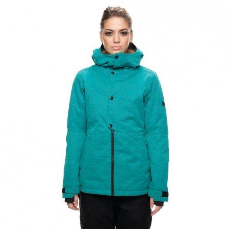 686 Rumor Insulated Snowboard Jacket (Women's) - Teal Sublimation
