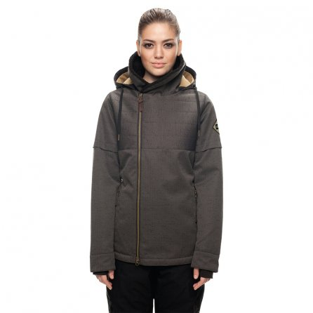 686 Immortal Insulated Snowboard Jacket (Women's) - Charcoal Sublimation