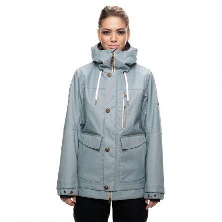 686 Phoenix Insulated Snowboard Jacket - Lt Blue Denim