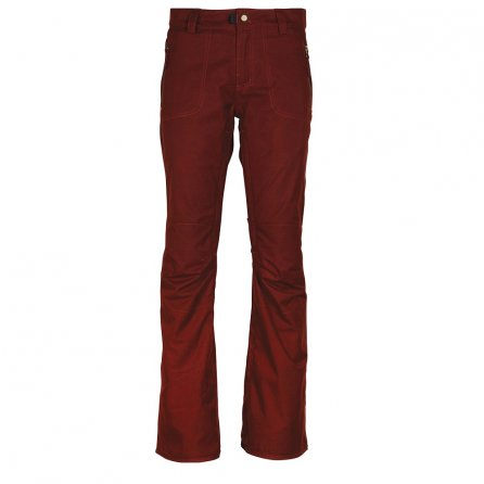 686 After Dark Shell Snowboard Pant (Women's) - Rusty Red Melange
