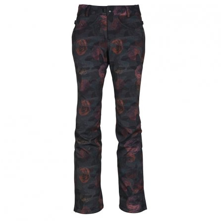 686 Gossip Softshell Snowboard Pant (Women's) - Camo Rose Print