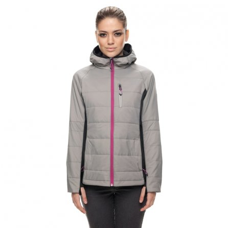 686 Eve Primaloft Insulated Snowboard Jacket (Women's) - Lt Grey Cire