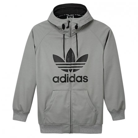 Adidas Greeley Softshell Jacket (Men's) - Core Heather/Black
