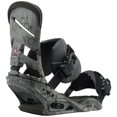 Burton Mission Snowboard Bindings (Men's) - Evil Genius