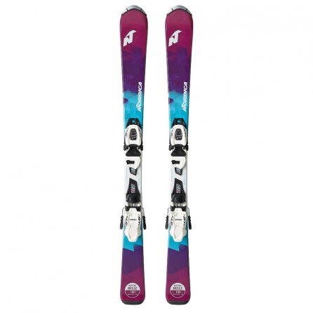 Nordica Little Belle Team Skis with 7.0 FDT Bindings (Kids') -