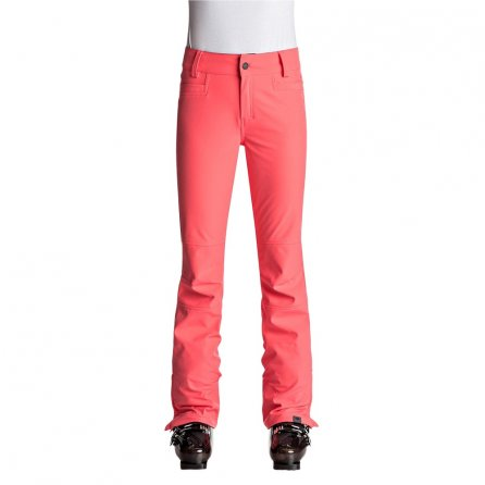 Roxy Creek Stretch Softshell Snowboard Pant (Women's) - Neon Grapefruit