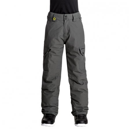 Quiksilver Porter Insulated Snowboard Pant (Boys') - Dark Shadow