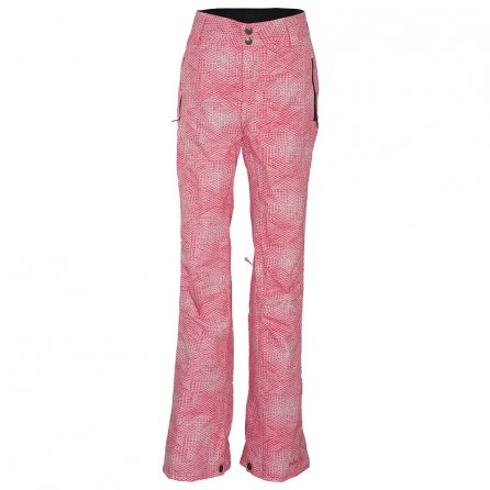 Pulse Statement Insulated Snowboard Pant (Women's) - Melon Honeycomb