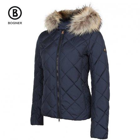 Bogner Fire + Ice Marisa-D Coat with Real Fur (Women's) - Navy