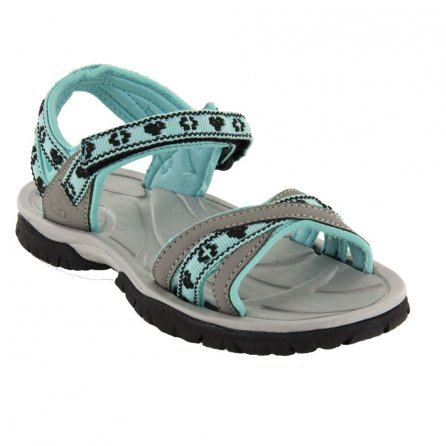 Northside Kaylani Sandal (Little Girls') - Gray/Aqua