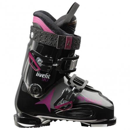 Atomic Live Fit 90 Ski Boot (Women's) - Black/Anthracite/Purple