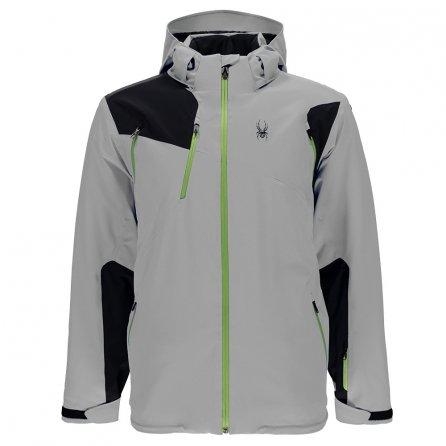 Spyder Bromont Insulated Ski Jacket (Men's) - Limestone/Black