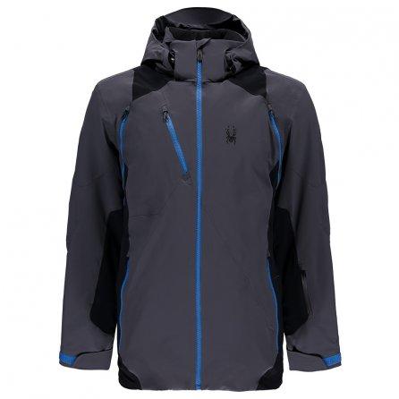 Spyder Hokkaido Insulated Ski Jacket (Men's) - Black/French Blue