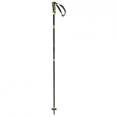 Salomon X 08 Ski Pole (Men's) - Grey/Yellow