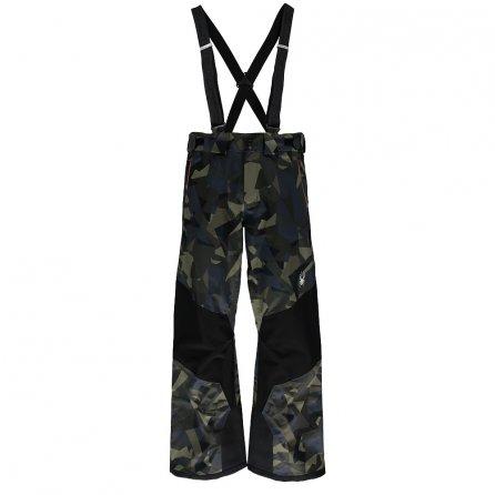 Spyder Turret Shell Ski Pant (Men's) - Camo Guard/Black