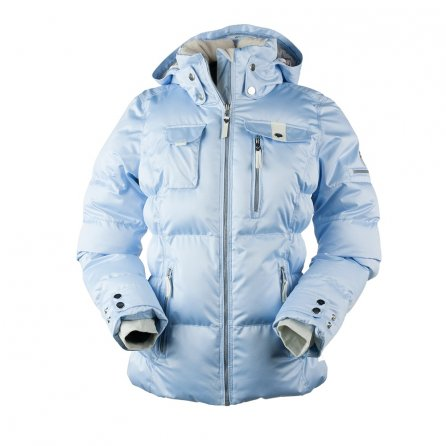 Obermeyer Leighton Insulated Ski Jacket (Women's) - Icescape Blue