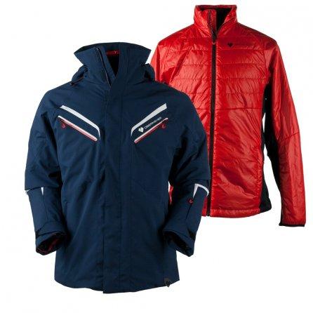 Obermeyer Triology Prime System Ski Jacket (Men's) - Storm Cloud