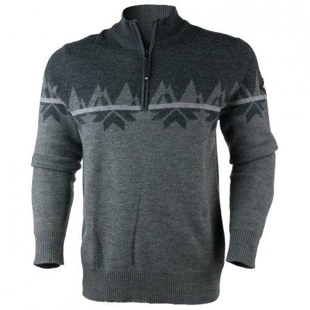 Obermeyer Ruedi Half-Zip Sweater (Men's) - Dark Heather Grey