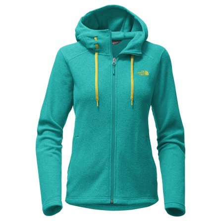 The North Face Mezzaluna Hoodie Sweater (Women's) - Pool Green Heather
