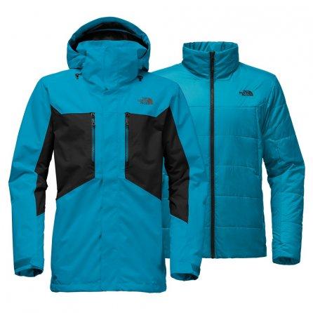 The North Face Clement Triclimate Ski Jacket (Men's) - Brilliant Blue/TNF Black
