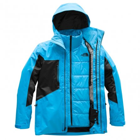 The North Face Clement Triclimate Ski Jacket (Men's) - Hyper Blue/TNF Black