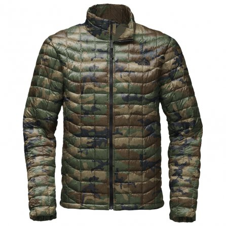 The North Face ThermoBall Jacket (Men's) - Terrarium Green Woodland Camo Print