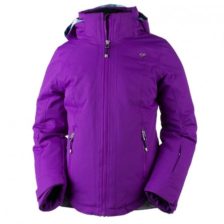 Obermeyer Kenzie Ski Jacket (Girls') - Violet Vibe