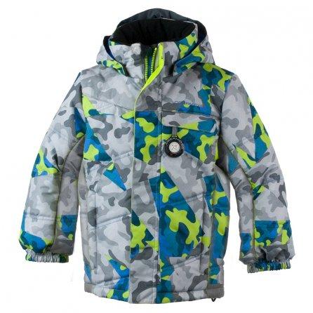 Obermeyer Hawk Ski Jacket (Little Boys') - Fractal Camo