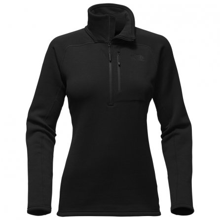 The North Face Flux 2 Power Stretch 1/4-Zip Mid-Layer (Women's) - TNF Black