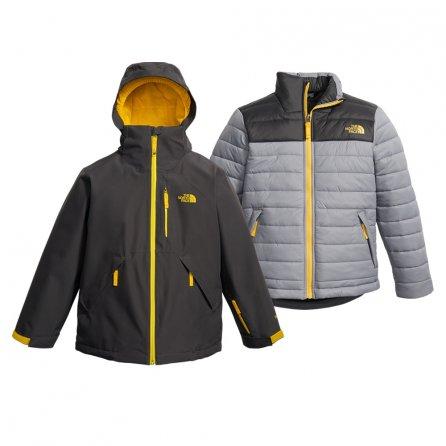 The North Face Fresh Tracks GORE-TEX Triclimate Ski Jacket (Boys') - Graphite