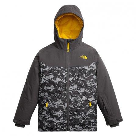 The North Face Brayden Insulated Ski Jacket (Boys') - Graphite Grey