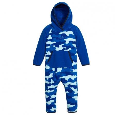 The North Face Glacier One Piece Ski Suit (Little Kids') - Sky Blue Classic/Camo Print